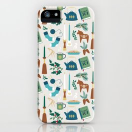 A Very Hygge Holiday iPhone Case