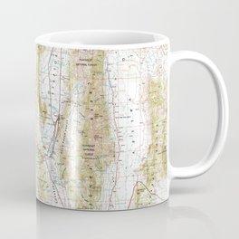 NV Ely 321673 1956 Topographic Map Coffee Mug