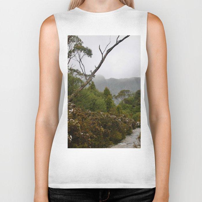 Eucalypt forest Biker Tank