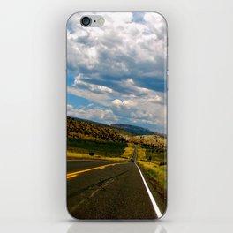 Tilted Road Trip iPhone Skin