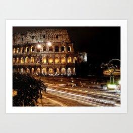 Roma, Colosseo | Rome, colosseum Art Print