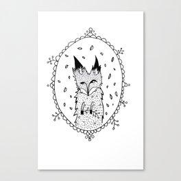FoxyII Canvas Print