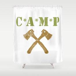 CAMP Shower Curtain