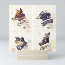 Star Team - Legends of Lylat Mini Art Print