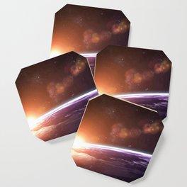 Earth and Rising Sun Coaster