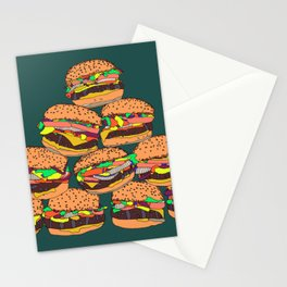 Burgers Stationery Cards