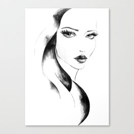 Lia Canvas Print