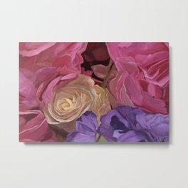 Flowers From My Valentine Metal Print
