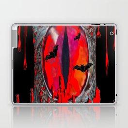 Red  Hells Gate Portal Blood & Bats Laptop & iPad Skin
