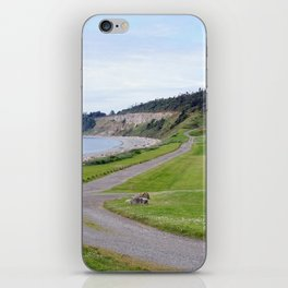 The long and winding road iPhone Skin