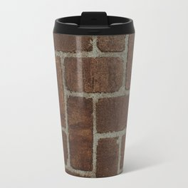Brick Pattern in Spain Travel Mug