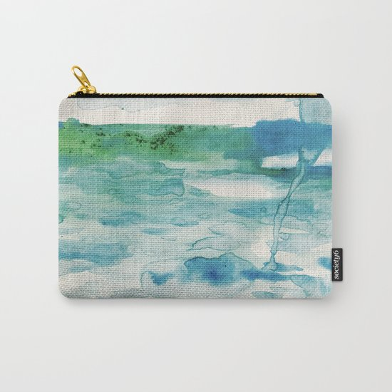Miami Beach Watercolor #2 Carry-All Pouch