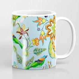 Colourful Birds Chintz Multicolour Coffee Mug