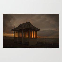 Pier Shelter Sunrise Rug