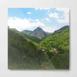 The North Metal Print