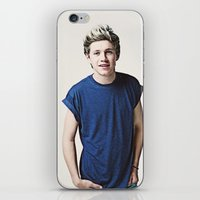 niall horan iPhone & iPod Skins featuring Niall Horan (One Direction) by Diana T