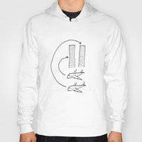 planes Hoodies featuring Planes by Charlotte Benard