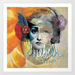 Corazon Art Print