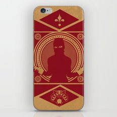 RED VANDALIZM iPhone & iPod Skin