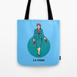 La Dama Mexican Loteria Tote Bag