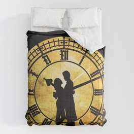 Through Time and Space Comforters