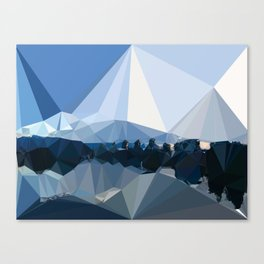 The Color of Travel : Vancouver Blues Canvas Print