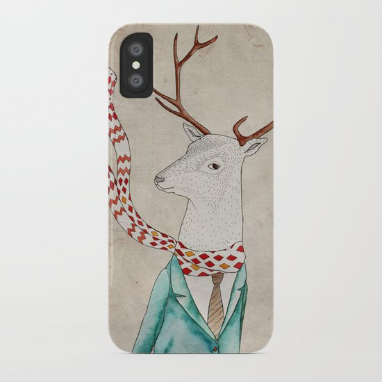 Dear deer. iPhone Case