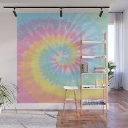 Pastel Tie Dye Wall Mural
