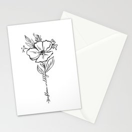 Bloom Wildly Stationery Cards