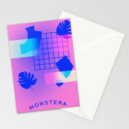 M O N S T E R A Stationery Cards