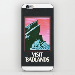 BADLANDS POSTER // HALSEY iPhone Skin