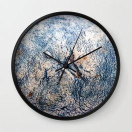 Cirrus Clouds: Close up #3 Wall Clock