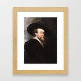 Peter Paul Rubens - Portrait of the Artist Framed Art Print