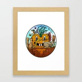 Farming is Fun Framed Art Print