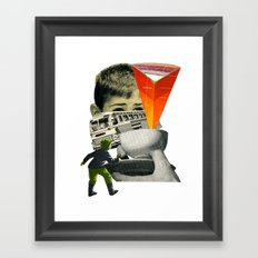 Start The Journey Framed Art Print