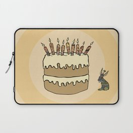 RABBIT CAKE Laptop Sleeve