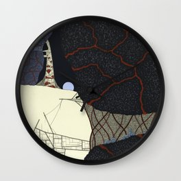 kaiju Wall Clock