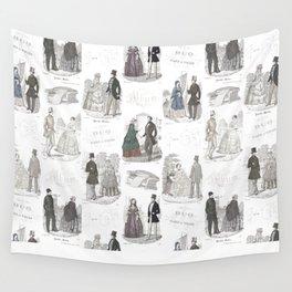 Biedermeier Romance Wall Tapestry