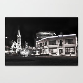 HDR city Canvas Print