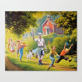School's Out! Canvas Print