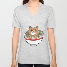 Phở Cat Unisex V-Neck