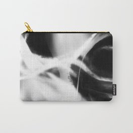 Neuron - Black and White Abstract Carry-All Pouch