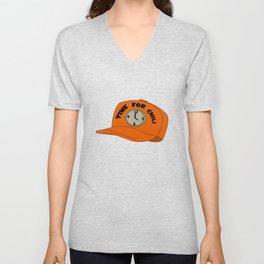 Time for Chili Hat Shirt Unisex V-Neck