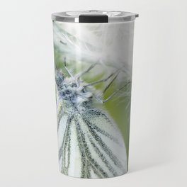 Butterfly dandelion Travel Mug