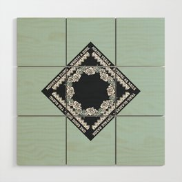 Hiking Trails-Strong as Nails Wood Wall Art