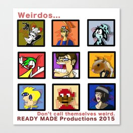 Ready Made Productions Promo Poster 2015 Canvas Print