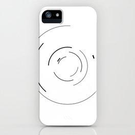 Orbital Mechanics Invert by Diagraf and Ewerx iPhone Case