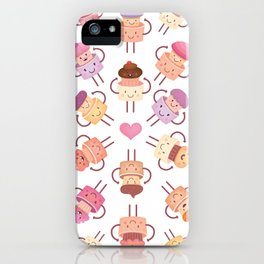 Cupcake Mandala iPhone Case