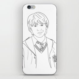 Ron Weasley iPhone Skin
