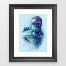 Hygienic Zombie Framed Art Print